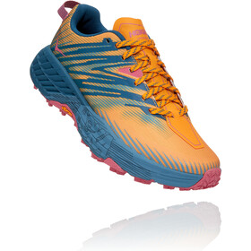 Hoka One One Speedgoat 4 Shoes Women saffron/provincial blue